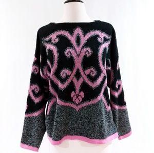80's Vintage Venezia Pullover Sweater